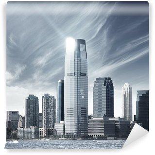 Vinyl Fotobehang Toekomstige stad - newyork stad