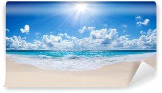 Vinyl Fotobehang Tropisch strand en de zee - landschap
