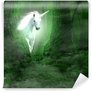 Vinyl Fotobehang Unicorn