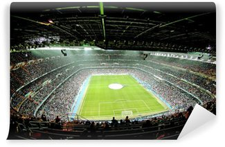 Vinyl Fotobehang Voet bal stadion