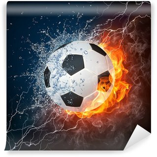 Vinyl Fotobehang Voetbal
