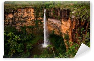 Vinyl Fotobehang Waterval in Brazilië, Wild