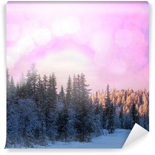 Vinyl Fotobehang Winter