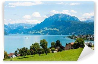 Fotomural de Vinil Alps and Alp lakes