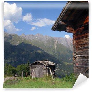 Fotomural de Vinil Auf der Alm - at the alp