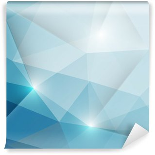 Fotomural Lavável Abstract geometric triangles background
