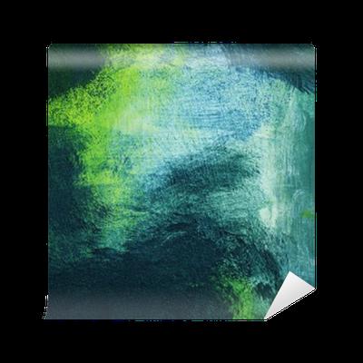 Fotomural de Vinil Macro da pintura, abstrato colorido