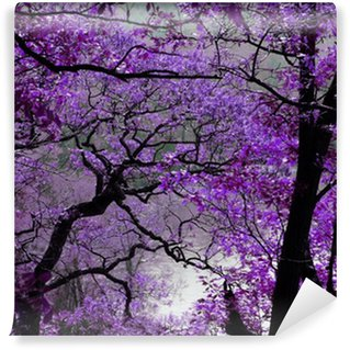Fotomural de Vinil purple spring