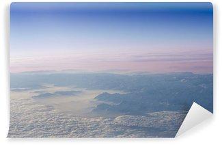 Fotomural de Vinil Snow capped alp peaks