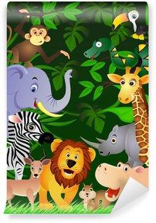 Fotomural Estándar Animales de la selva