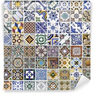 Fotomural Estándar Azulejos tradicionales de Porto, Portugal