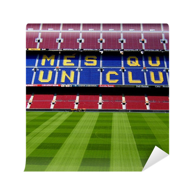Fotomural barcelona estadio camp nou pixers vivimos - Fotomurales barcelona ...