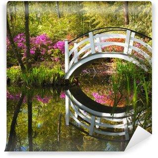 Fotomural Estándar Blooming Spring Flowers Azalea Garden Naturaleza South Charleston SC