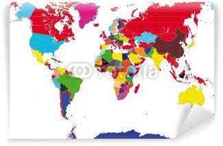 Fotomural Estándar Carta mondiale