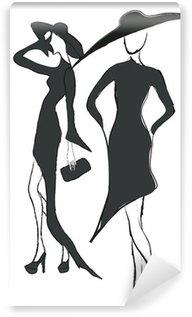 Fotomural Estándar Chicas de moda