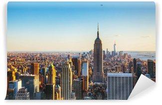 Fotomural Estándar Ciudad de Nueva York paisaje urbano