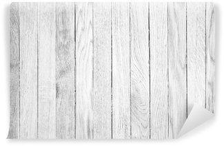 Fotomural Estándar De alta resolución fondos de madera blanca