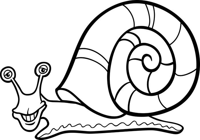 Dibujos Infantiles De Caracoles Para Colorear: Dibujos Para Colorear Caracol. Elegant Dibujos Animados De