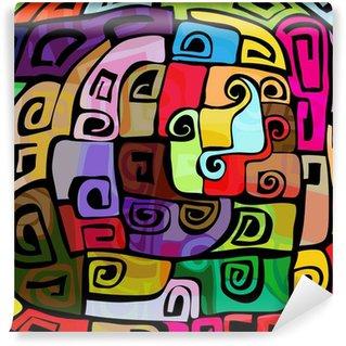 Fotomural Estándar Diseño moderno de colores