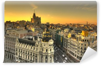 Fotomural Estándar Edificio Metrópolis Madrid