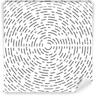 Fotomural Estándar Elemento de círculo concéntrico o de fondo.