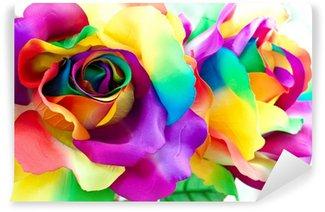 Fotomural Estándar Fake flor rosa