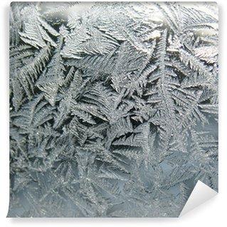 Fotomural Estándar frozen winter window