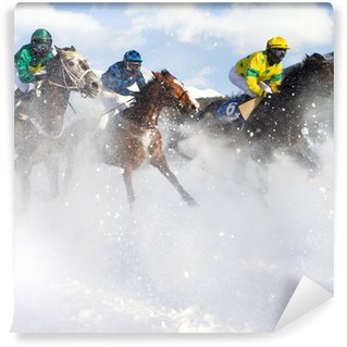 Fotomural Estándar Galoppo nella neve