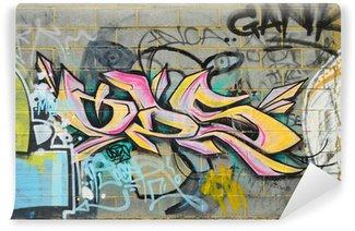 Fotomural Estándar Graffiti Street Art pared