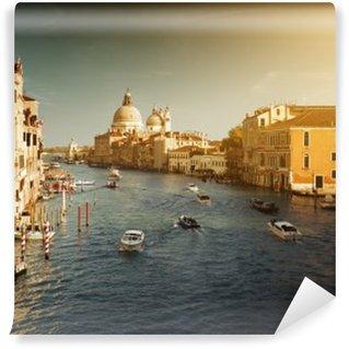 Fotomural Estándar Grand Canal y Santa Maria della Salute Basilica, Venecia, Italia