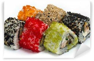 Fotomural Estándar Hay varios tipos de sushi y sashimi