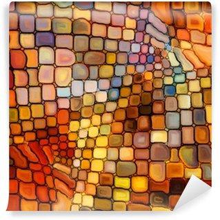 Fotomural Estándar Ilusión de Stained Glass