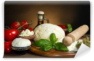 Fotomural Estándar Ingredientes para pizza