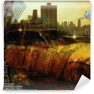 Fotomural Lavable Composición Ciudad new2 York