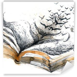 Fotomural Estándar Libro antiguo