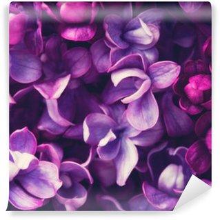 Fotomural Estándar Lila flores de fondo