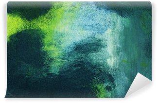 Fotomural Estándar Macro de la pintura, extracto colorido