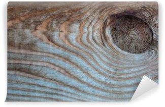 Fotomural Estándar Madera vieja de fondo multicolor rústico, mancha en una tabla de madera