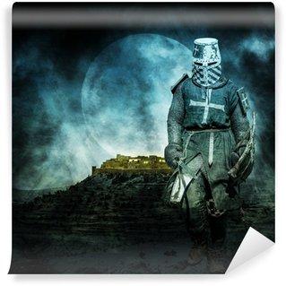 Fotomural Estándar Medieval Crusader