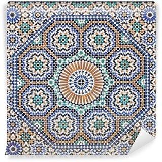 Fotomural Estándar Mosaico oriental en Marruecos, África del Norte