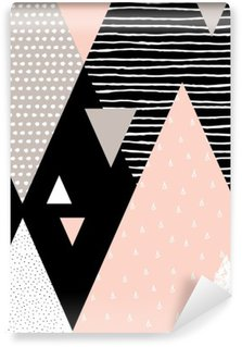 Fotomural Estándar Paisaje abstracto geométrico
