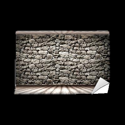 Fotomural pared piedra textura pixers vivimos para for Fotomurales pared