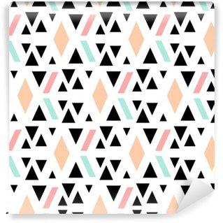 Fotomural Estándar Patrón abstracto sin fisuras geométrica.