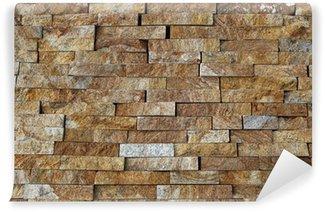 fotomural lavable piezas de piedra natural azulejos para paredes - Paredes De Piedra Natural