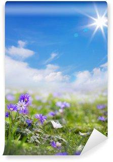 Fotomural Estándar Primavera de arte floral o fondo de verano