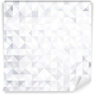 Fotomural Estándar Resumen fondo blanco y gris estilo geométrico