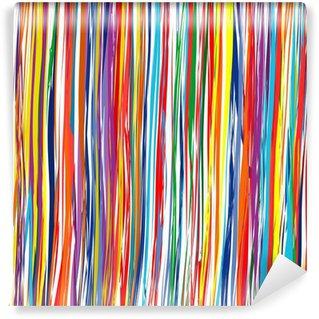 Fotomural Estándar Resumen rayas de colores de fondo