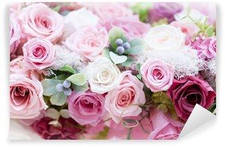 Fotomural Estándar Roses Roses Pink Conservas