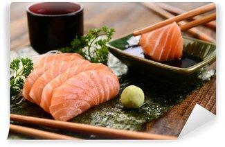 Fotomural Estándar Salmón sashimi