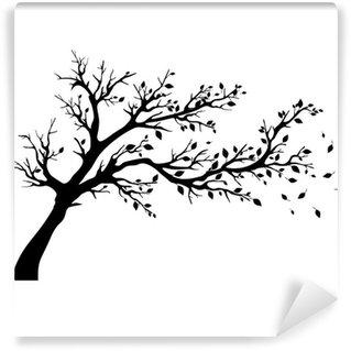 Fotomural Estándar Siluetas de árboles.